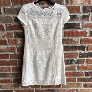 Nanette Lapore La Rambla white lace dress size 2